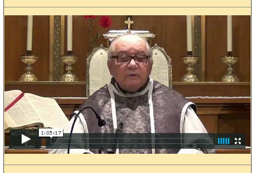 Sermón del 08 de Febrero de 2015-I