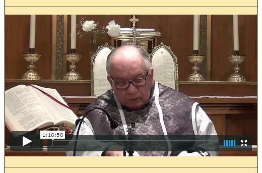 Sermón del 22 de Febrero de 2015-I