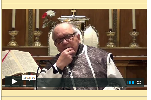 Sermón del 08 de Marzo de 2015-II