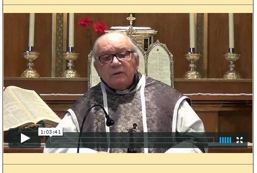 Sermón del 29 de marzo de 2015