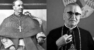 Cardenales Ottaviani y Bacci
