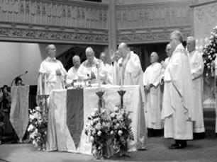 Concelebración en la Nueva Misa
