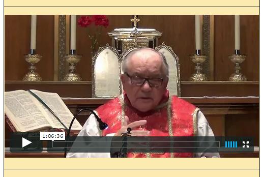 Sermón del 24 de mayo de 2015