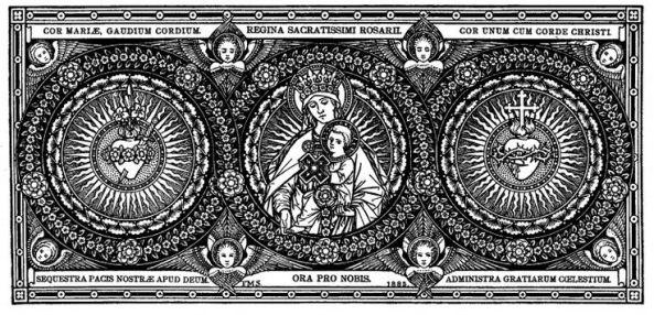 Virgen del Sto. Rosario