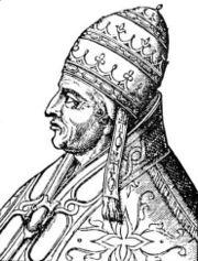 Alejandro V, nacido Pietro Philarghi, según los italianos Pietro de Candia (Creta, 1340 - Bolonia, 3 de mayo de 1410), fue un antipapa de la Iglesia católica de 1409 a 1410, durante el período del Cisma de Occidente.