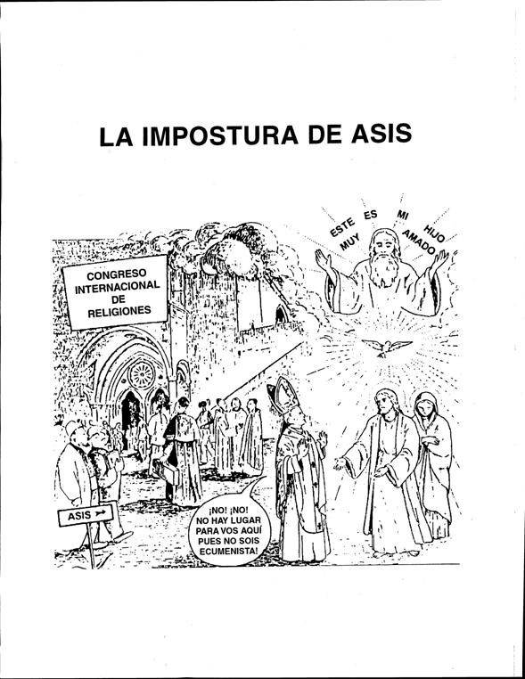 La impostura de Asís