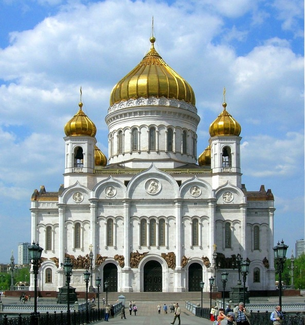 Catedral de Cristo Salvador de Moscú