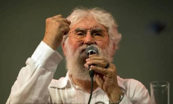 Leonardo Boff, teólogo de la liberación.