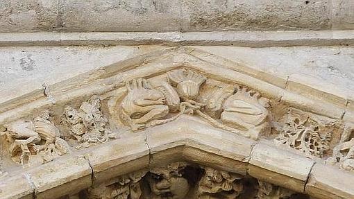Los aliens de la Catedral de Palencia- ABC