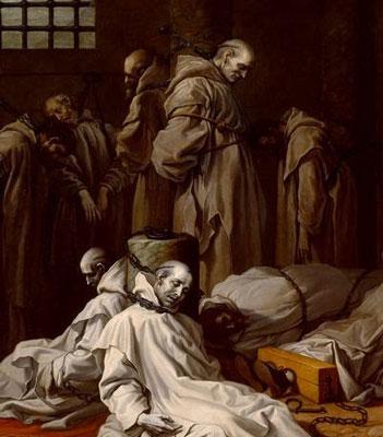 Los mártires cartujos de Londres